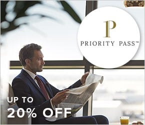 Up to 20% off Priority Pass