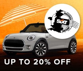 Up to 20% OFF Sixt car hire