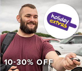 10-30% off Holiday Extras