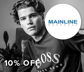 10% off Mainline Menswear