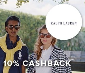 10% cashback with Ralph Lauren