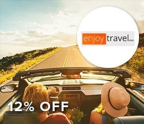 12% off Enjoy Travel