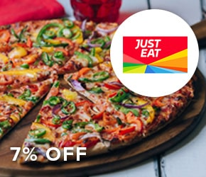 7% off Just Eat