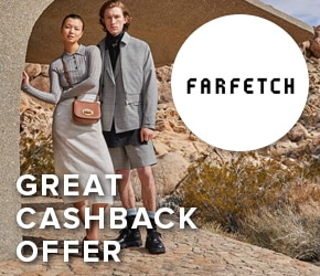 Great cashback offer with Farfetch