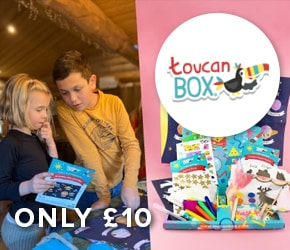 Only £10 for ToucanBox
