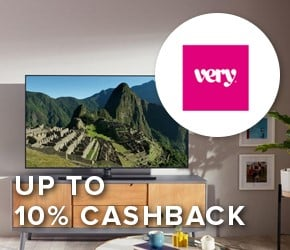 Up to 10% cashback with Very