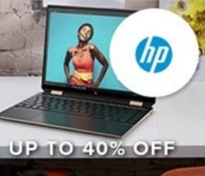 Up to 40% off HP