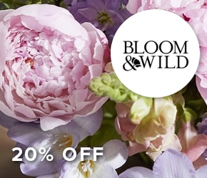 20% off Bloom and Wild